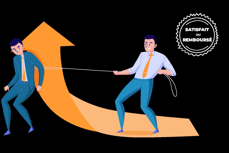 investissez dans les compétences de vos collaborateurs, satisfait ou remboursé
